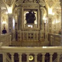 particolare cripta