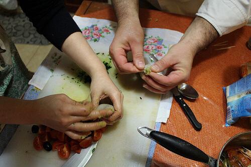 南イタリアプーリア州で学ぶプロ料理コース&プーリア家庭料理コース3