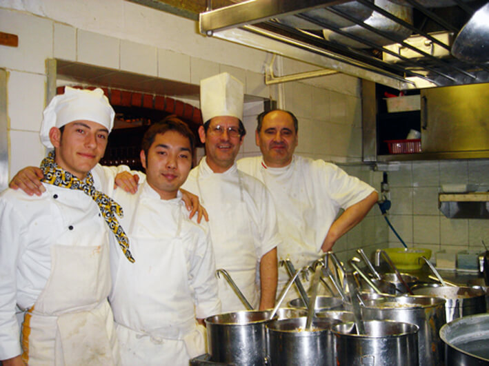 イタリア料理レストランインターンシップ