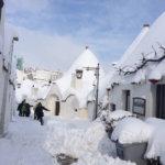 大雪だった南イタリア