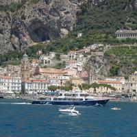 boats Amalfi Coast to Salerno