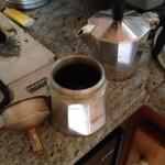 バールのコーヒーと家庭のコーヒー