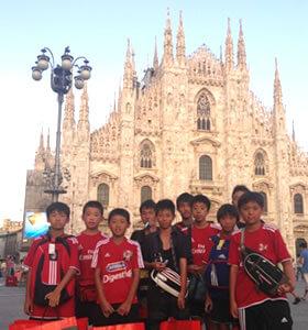 イタリアサッカー留学の案内を開始しました!