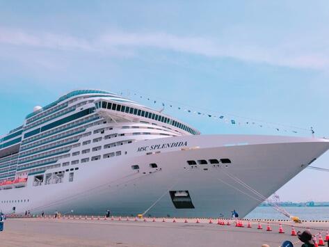 イタリア豪華客船の旅!!parte1