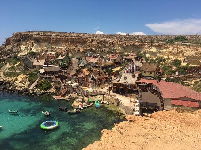 絶景すぎる観光地@マルタ島