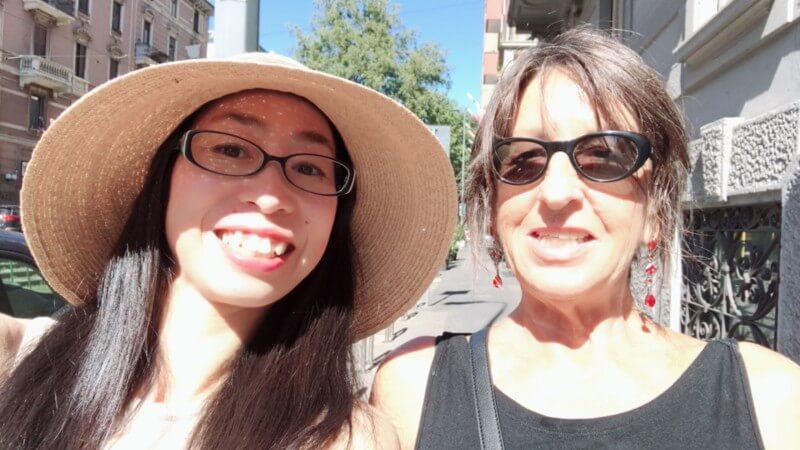 2週間ミラノのレオナルドダヴィンチへ語学・料理留学をされた渡邉憂子さんの体験談