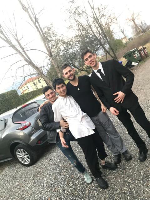 ルッカ・イタリア料理学院に1年間のご留学をされた山岸帝さん(10代・男性)からの体験談