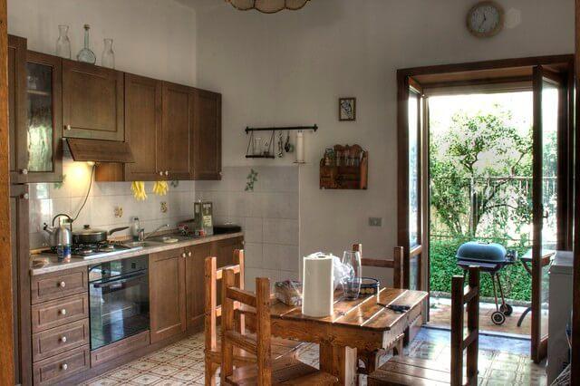 イタリアのキッチン(イメージ図)