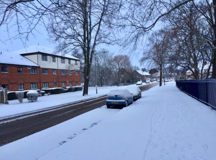 ヨークの大雪
