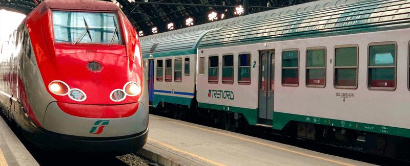 今日のイタリア語「ローマ行きの電車は何番線から出ますか?」