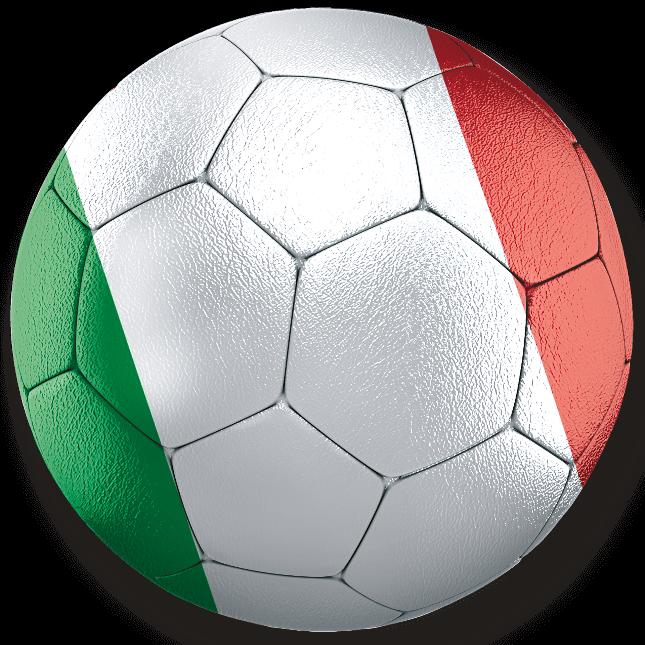イタリア×サッカー